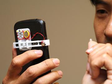 水滴显微镜问世!让手机也能成为移动显微镜