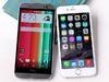 双雄交锋!HTC One M8、iPhone 6外型与实拍比拼