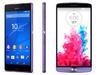 LG G3、索尼Z3不约而同主打紫色旗舰机