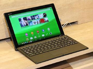 索尼Xperia Z4 Tablet防水、纤薄、2K屏幕【MWC 2015】