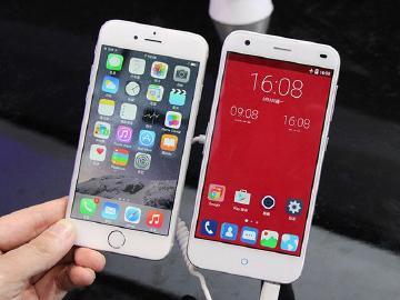 向iPhone 6致敬 中兴Blade S6、S6 Plus齐亮相【MWC 2015】