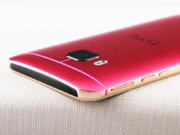 骚气十足!HTC One M9桃红金新色图赏