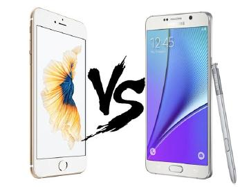 比一比!iPhone 6S Plus与三星Note 5特色分析
