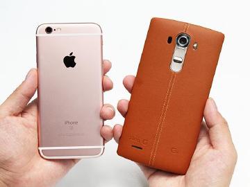 谁拍照更厉害?iPhone 6S与LG G4比比看