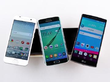 台韩手机PK!HTC A9对决三星S6&LG G4