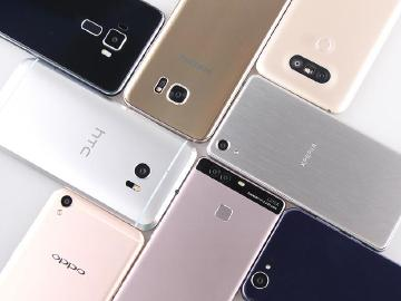 中台日韩八款安卓热门手机拍照比较 前后镜头实拍比拼